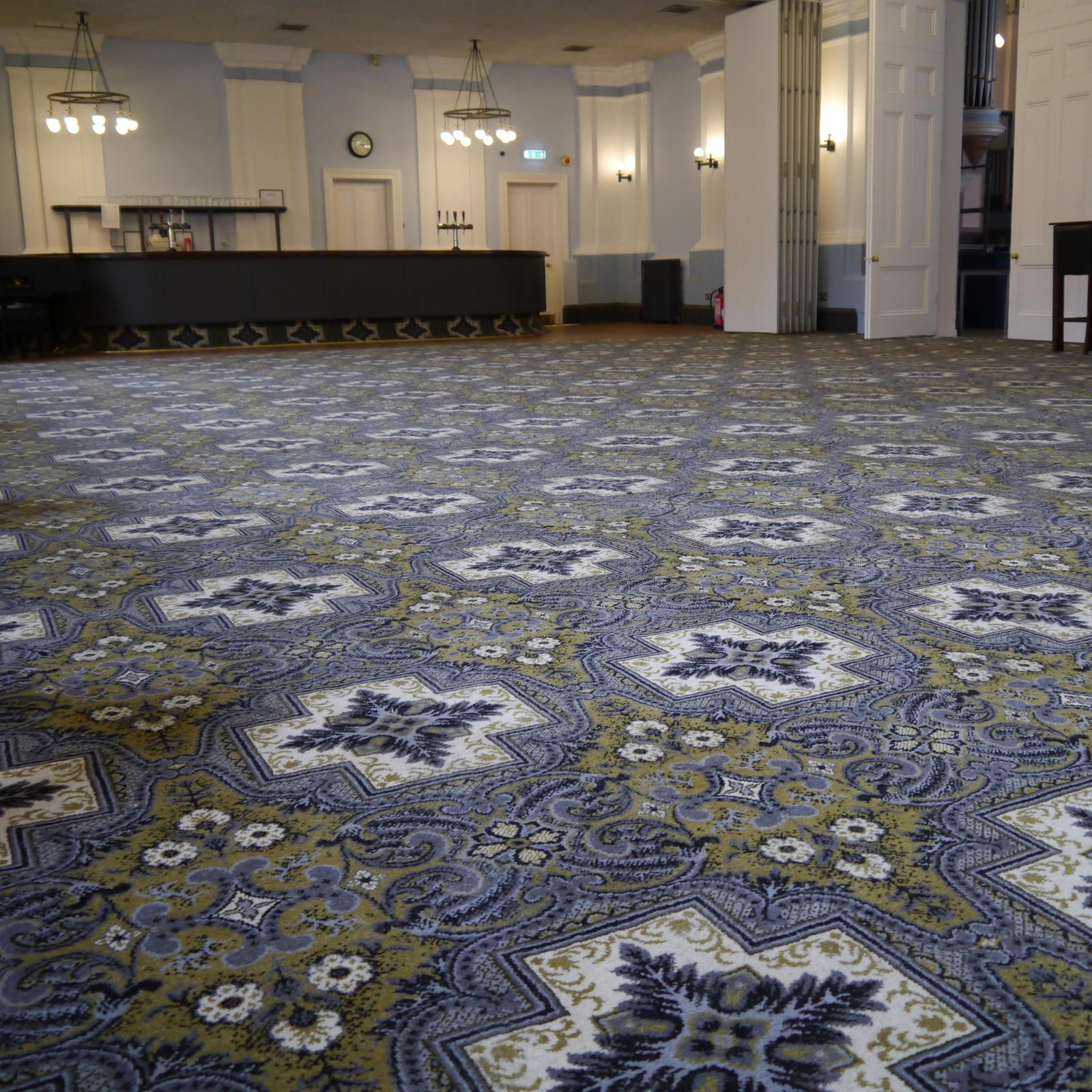 Brintons has helped Kidderminster Town hall re-create 19th century history by supplying a design through its expansive archive.