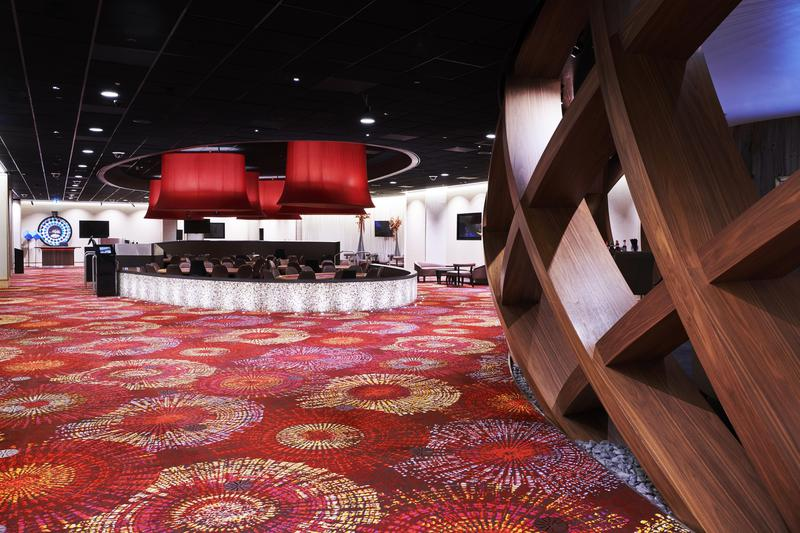 Brintons carpets are one of the best commercial carpets available for casinos. We had a great experience working with them on this project.