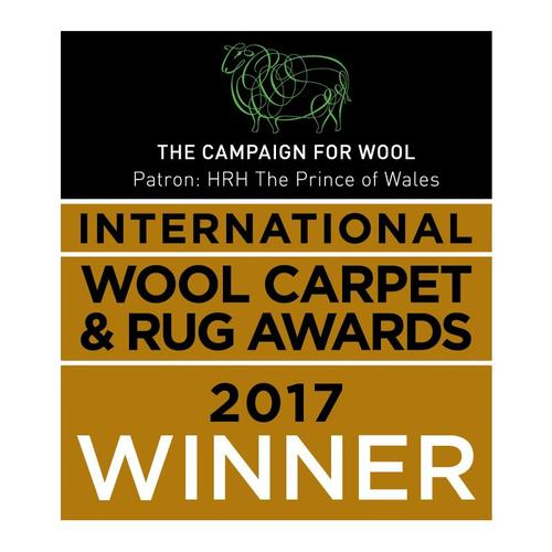 Brintons triumphs at The International Wool Carpet & Rugs Awards 2017