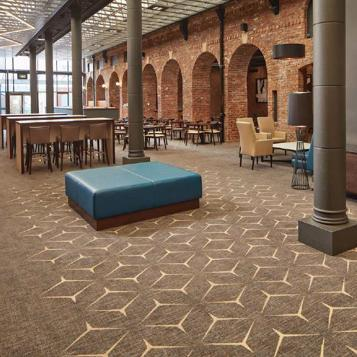 Crowne Plaza Nottingham commissions Brintons to design luxurious carpets throughout its contemporary hotel