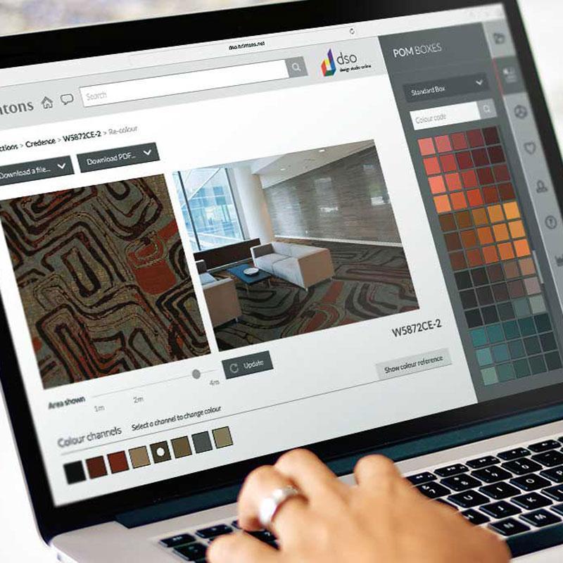 Brintons Design Studio online