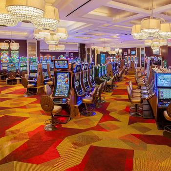 gaming casino carpet