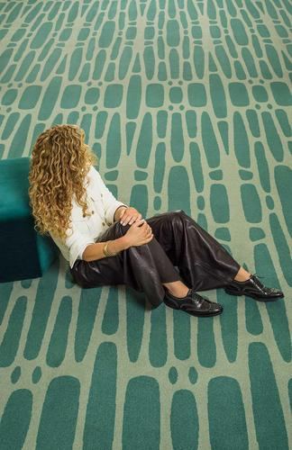 Kelly Hoppen MBE collaborates with Brintons on debut carpet collection for the commercial market