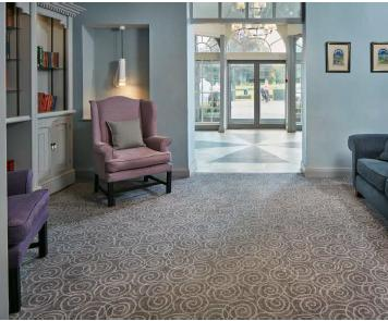 Brintons presents QuickWeave™ carpet solutions in Hawkstone Park Hotel, Shropshire