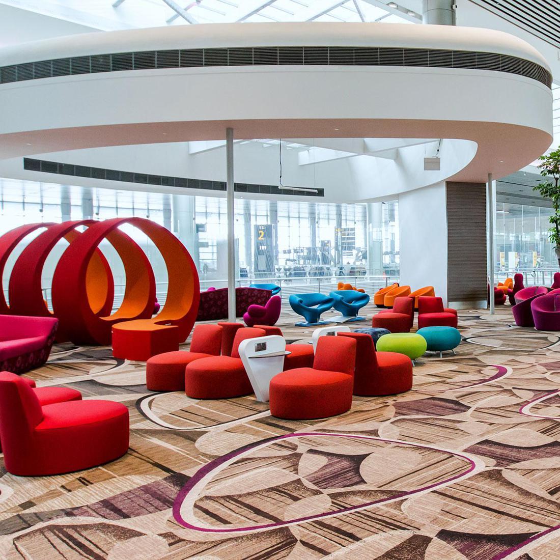 Changi Airport Terminal 4 Brintons Carpets